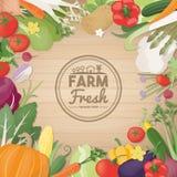 Frisches vegetables Lizenzfreie Stockbilder