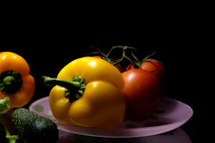 Frisches vegetables Lizenzfreies Stockfoto