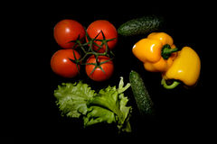 Frisches vegetables Lizenzfreie Stockbilder