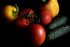 Frisches vegetables Stockfoto
