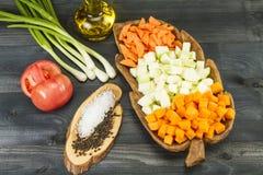 Frisches vegetarisches Gemüse Lizenzfreie Stockfotografie
