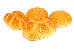 Frisches weißes Brot Lizenzfreies Stockbild