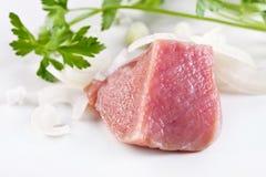 Frischfleisch Stockbild