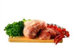 Frischfleisch Stockfotos