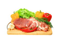 Frischfleisch Lizenzfreies Stockfoto