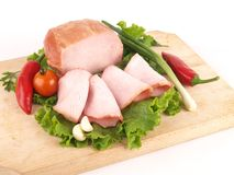 Frischfleischprodukt Stockfoto