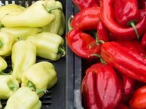 Frischgemüse auf Landwirtmarkt Stockfoto