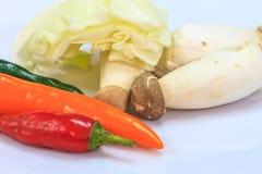 Frischgemüse für das Kochen Stockfoto