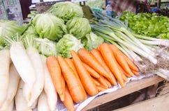 Frischgemüse im Markt Stockbilder
