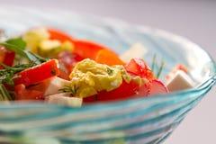 Frischgemüse-Salat Stockbilder