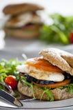 Frischgemüse-Sandwich Lizenzfreie Stockfotos