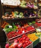 Frischgemüsegartenmarkt stockfotos