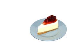 Frischkäse-Torte Cheerry Stockfoto