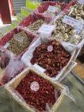 Frischmarkt in Florenz, Italien Stockbilder