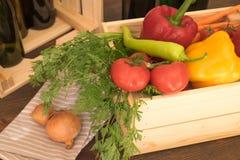 Frischmarkt-Gemüse stockfotografie