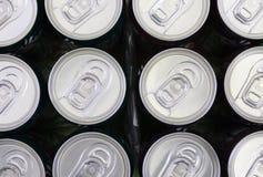 Frisdrankenblikken Royalty-vrije Stock Foto's
