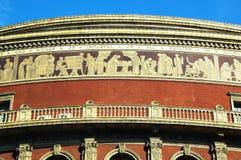 Frise royale d'Albert Hall Photos stock