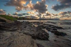 Friseur-Punkt Oahu Hawaii Stockfoto