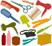 Friseur_set Imagen de archivo libre de regalías