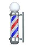 Friseursalon Pole Lizenzfreies Stockfoto