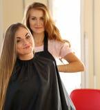 Friseursalonkonzept Lizenzfreies Stockfoto