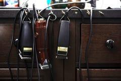 Friseurzubehör und -werkzeuge Lizenzfreie Stockbilder