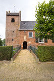 Frisian church, (13th century) perfectly preserved Stock Images