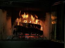 Frisky Piątku ogień zdjęcia royalty free