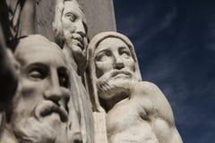 Friso com figuras humanas Foto de Stock