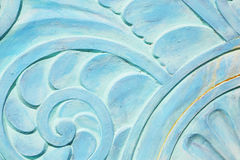 Friso de Art Deco en la playa del sur, la Florida Imágenes de archivo libres de regalías