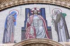 Friso de la catedral Foto de archivo