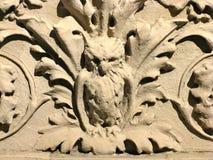 Friso de uma coruja Imagens de Stock Royalty Free