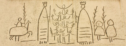 Frisos de Picasso fotos de archivo libres de regalías