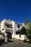 fristående villa Arkivbild