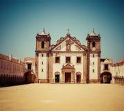 Fristad av Cabo Espichel, Sesimbra, Portugal royaltyfria foton