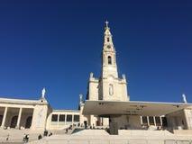 Fristad av Fatima Shrine av Fatima Portugal royaltyfria foton
