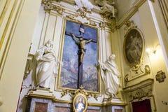 Fristad av Madonna di San Luca, Bologna, Italien arkivbild