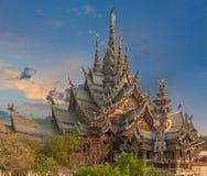 Fristad av sanning, Pattaya, Thailand Arkivbilder
