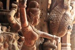 Fristad av sanning Prasat Satchatham; i Pattaya Royaltyfri Bild