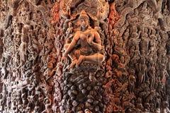 Fristad av sanning Prasat Satchatham i Pattaya Arkivbild