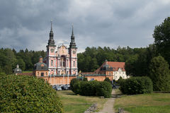Fristad av St Mary (Swieta Lipka) i Polen Royaltyfri Foto