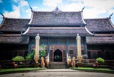 Fristad av Wat Lok Moli arkivbild
