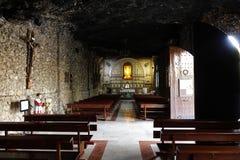 Fristad Santuario Virgen de la Esperanza nära Calasparra, Spanien royaltyfria bilder