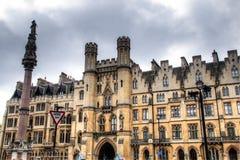 Fristadbyggnad nära den Westminster abbotskloster i London, UK Arkivfoton