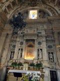 Fristaden av Madonna Di San Biagio, Montepulciano Arkivbilder