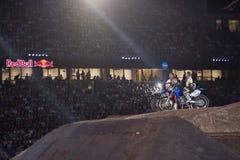 Fristilmotocross Arkivfoto