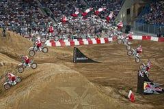 Fristilmotocross Royaltyfria Bilder