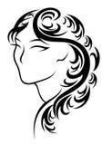 Frisur vektor abbildung