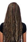 Frisur dreadlocks Lizenzfreie Stockfotos