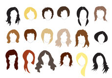 Frisuren Stockfotografie